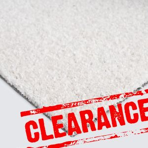 4m x 1.9m Winter White Artificial Grass Clearance