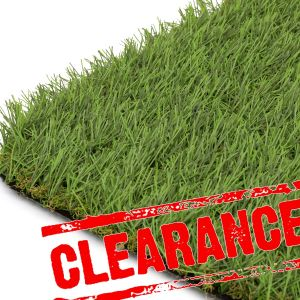 4m x 1.1m Extinguish Fire Rated Artificial Grass Clearance