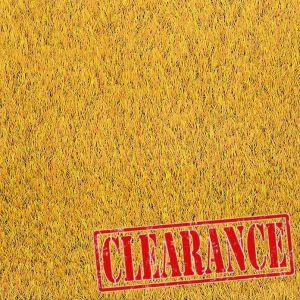2m x 2.1m Urban Gold 27mm Artificial Grass Clearance