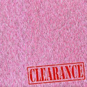 4m x 1.5m Urban Pink 27mm Artificial Grass Clearance