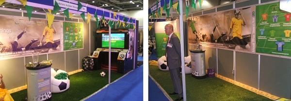 Express Grass Football Arcade Machine